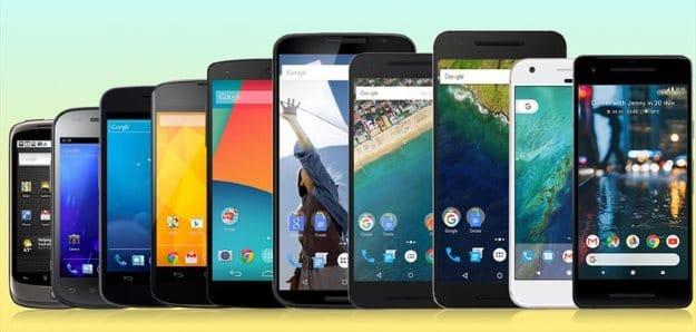 Google Nexus Geschichte