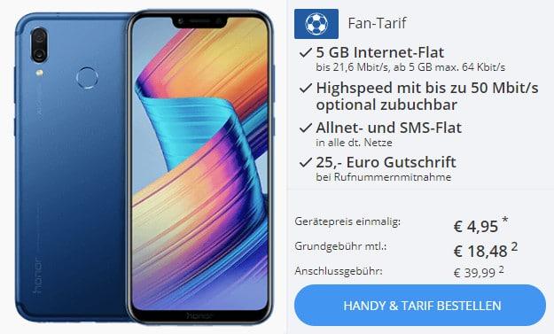 Honor Play + otelo Fan Tarif
