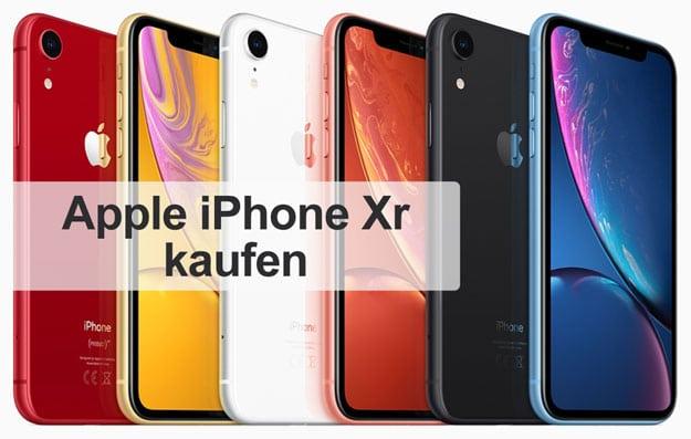 iPhone Xr kaufen - Lieferzeit Telekom, Vodafone, o2, MediaMarkt, Saturn