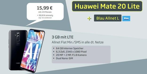 Huawei Mate 20 lite + Blau Allnet L