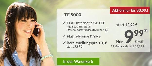 maXXim Allnet-Flat LTE ab 6,49 € Grundgebühr