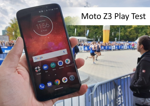 Motorola Moto Z3 Play Test
