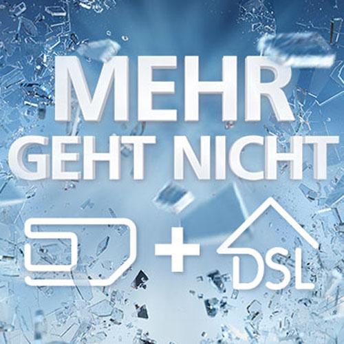 o2 my All in One: Kombiniere Festnetz- mit Mobilfunk-Tarif und spare Geld - unbegrenzte LTE- & DSL-Flatrate