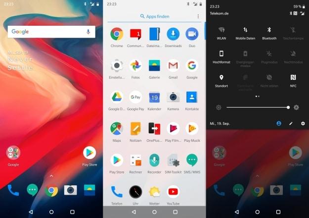 OnePlus 6 Test UI