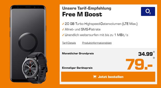 Samsung Galaxy S9 / S9 Plus + o2 Free M Boost