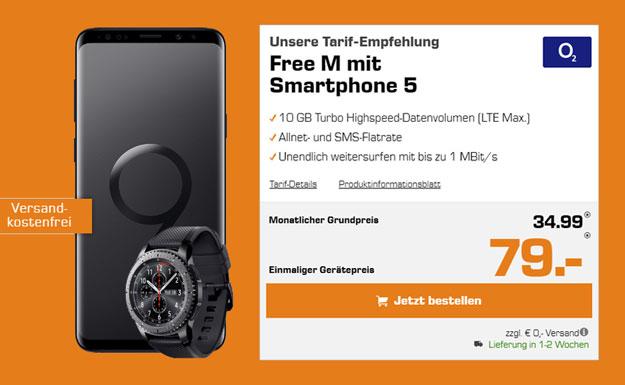 Galaxy S9/S9 Plus + o2 Free M