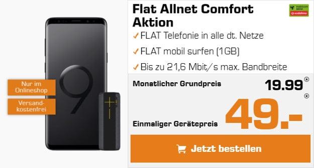 S9 + Vodafone Flat Allnet Comfort md