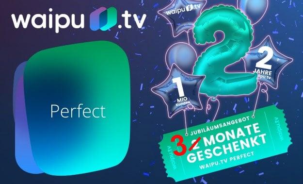 waipu.tv: Streaming-Dienst mit vielen Top-TV-Sendern (auch in HD) - jetzt drei Monate gratis testen!