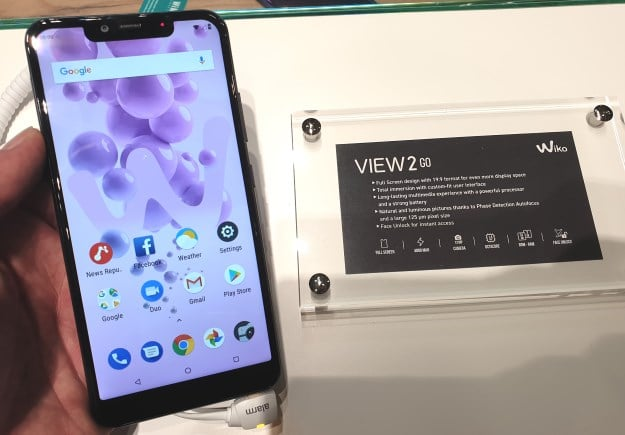 Wiko View 2 Go Test