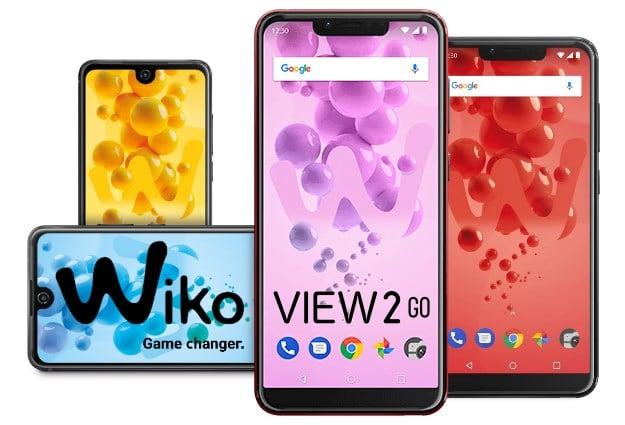 Wiko View 2 Go mit Vertrag