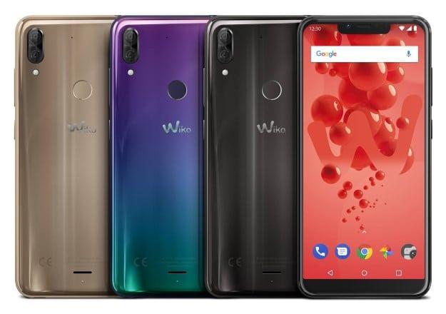 Wiko View 2 Plus mit Vertrag Farben