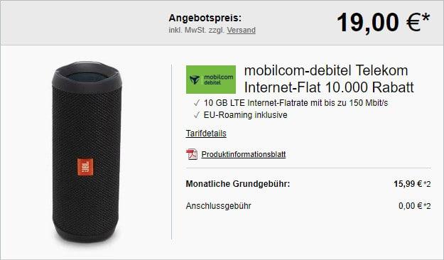 md Internet Flat 10.000 mit 10 GB LTE im Telekom-Netz