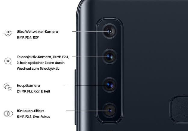 Samsung Galaxy A9 Vertrag