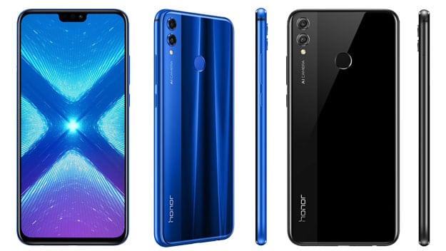 Honor 8X mit Vertrag günstig kaufen: Edles Design, SuperSecreen & viel Technik für wenig Geld