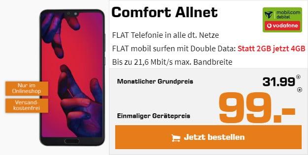Huawei P20 / P20 Pro + Vodafone Comfort Allnet (md)