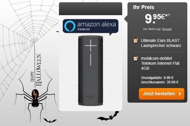 mobilcom-debitel Internet-Flat 4.000 (Telekom-Netz) + Ultimate Ears Blast bei Handyflash