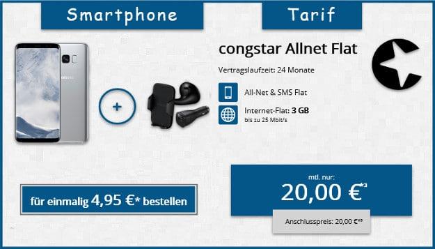 S8 + Kfz-Set + congstar Allnet-Flat