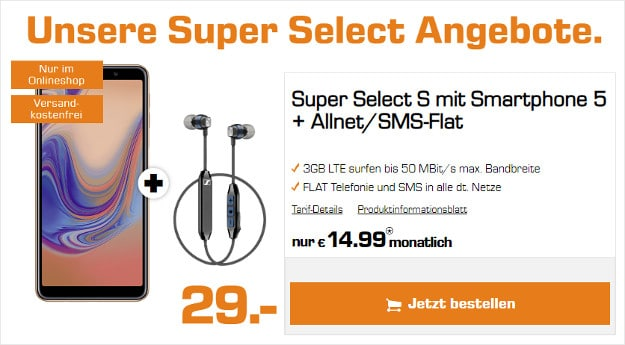 samsung galaxy a7 + super select s