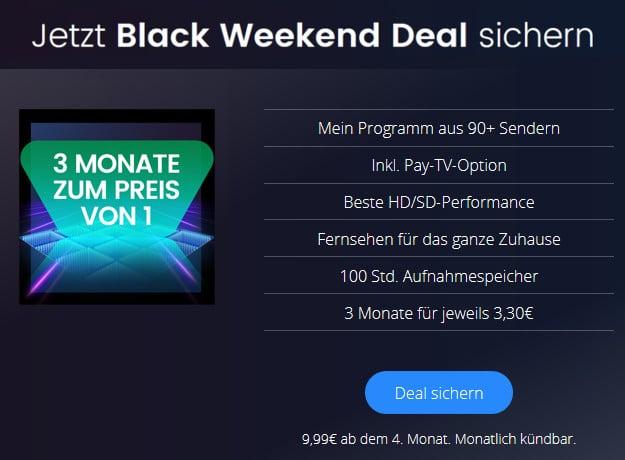 waipu.tv Black Weekend Deal