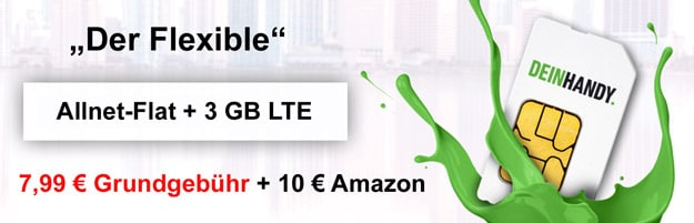 DeinHandy Allnet-Flat 3 GB LTE