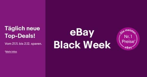 ebay Black Week 2019