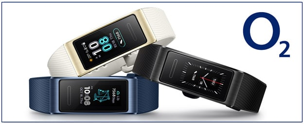 o2 Aktion mit dem Huawei Band 3 Pro: Beliebtes Fitnessarmband las gratis Zugabe zum Tarif