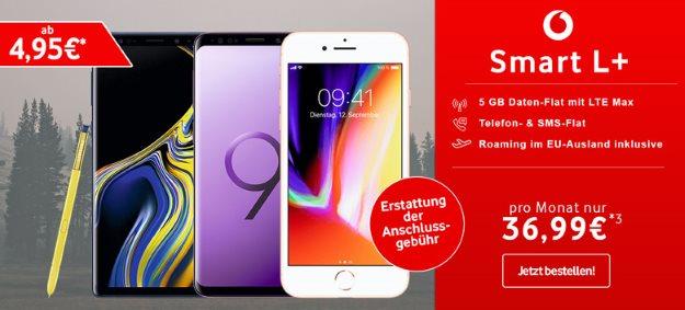Apple iPhone 8 64GB + Vodafone Smart L Plus bei talkthisway