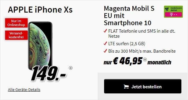 iPhone Xs 64GB + md Mobil S Telekom