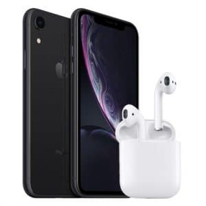 Apple iPhone Xr + Apple AirPods 2