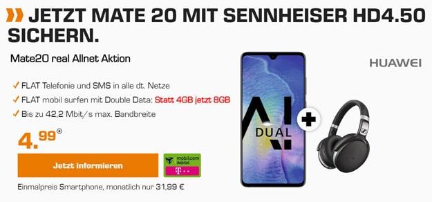 Huawei Mate 20 + md real Allnet (Telekom-Netz)