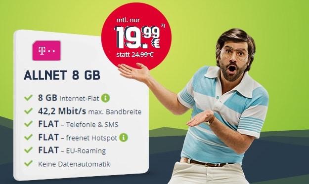 mobilcom-debitel Allnet 8 GB (Telekom-Netz)