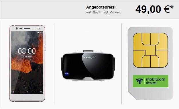 Nokia 3.1 + Smartphone-Tarif