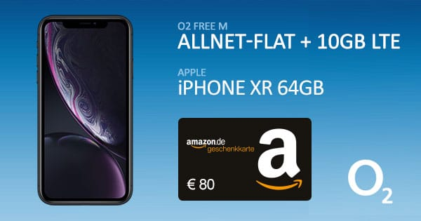 iPhone Xr + o2 Free M