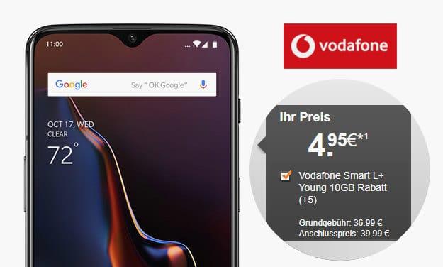 OnePlus 6T + Vodafone Smart L Plus bei LogiTel