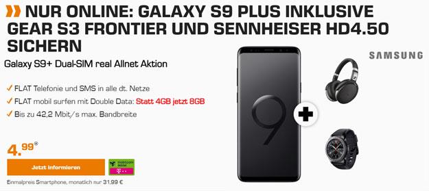 Galaxy S9 Plus + md real Allnet (Telekom)
