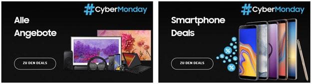 Samsung Cyber Monday: Zu jedem Galaxy A6 / A6 Plus oder A8 ein zweites Gerät gratis dazu - S8 Plus DUOS zum Tiefstpreis!