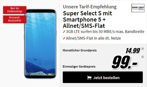 Samsung Galaxy S8 + o2 Super Select S