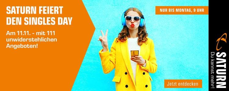 Saturn Singles Day 2018: Die besten Schnäppchen zu Tarifen, Smartphone & vieles mehr im Überblick
