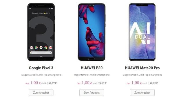 Telekom Magenta Thursday: Top-Deals vom 22.11. bis 26.11.2018 - Samsung Galaxy S7 für 199 € & mehr
