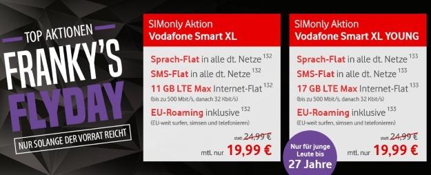 Vodafone Smart XL bei FLYmobile
