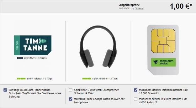 10 GB LTE + Tanne + Motorola Headset