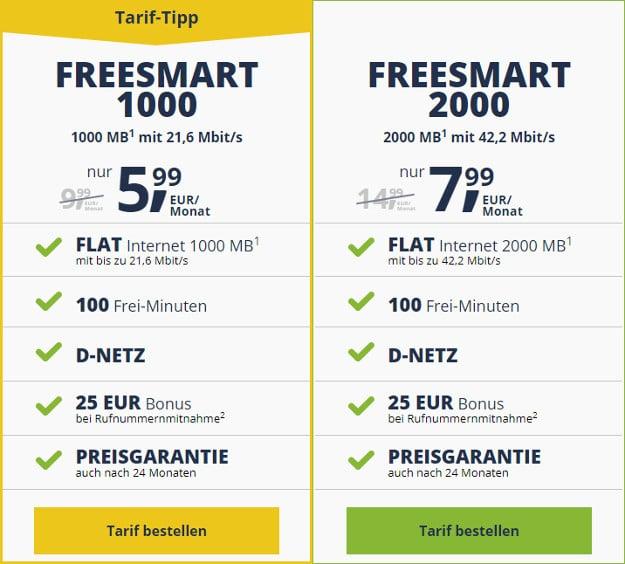 freeesmart 1000 2000