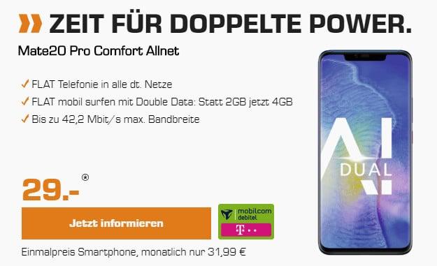 huawei mate 20 pro + telekom comfort allnet md