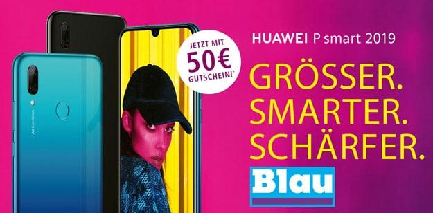 Huawei P Smart (2019) + Blau Allnet L bei Handyflash
