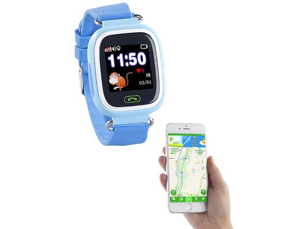 Kinder Smartwatch PW-100.kids von TrackerID im ersten Test: Dank GPS und schicker Optik Kinder immer im Blick behalten