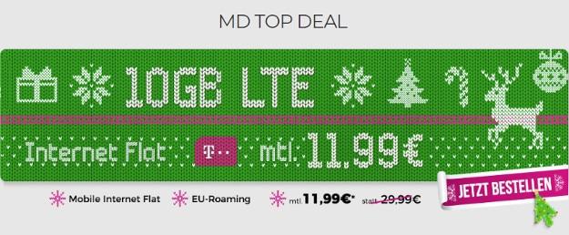 mobilcom-debitel Internet-Flat 10.000 (Telekom-Netz) mit 10 GB LTE