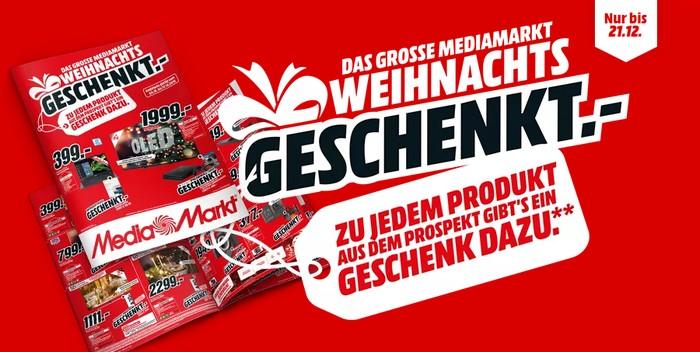 MediaMarkt Weihnachts-Geschenkt-Aktion 2020