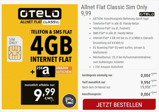 otelo Allnet-Flat Classic
