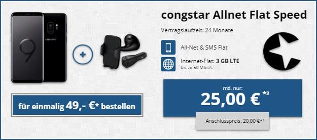 Samsung Galaxy S9 + congstar Allnet-Flat