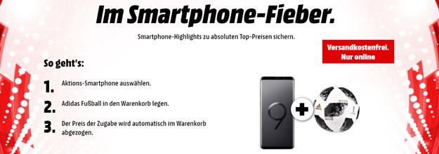 MediaMarkt Smartphone-Fieber: Handys günstig kaufen